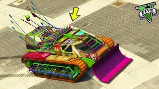 GTA 5 ONLINE 🐷 CARRO ARMATO DEMOLITORE !!! 🐷 DLC ARENA WAR 🐷 GTA 5 ITA 🐷 DAJE !!!!!!!