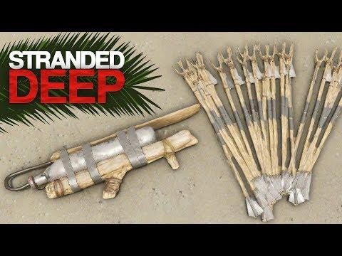 DEVELOPING MY ARSENAL! Stranded Deep Episode 13