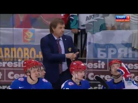 Олег Знарок Vs Шведский тренер. Полная версия. ЧМ-2014. Россия - Швеция 3:1