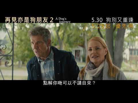 再見亦是狗朋友2 (A Dog's Journey)電影預告