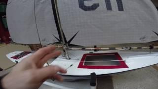 Rc Yacht    CANTERBURY J CLASS