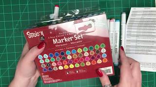 Unboxing New Studio 71 Markers