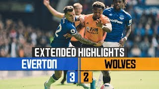 Everton 3-2 Wolves | Extended Highlights