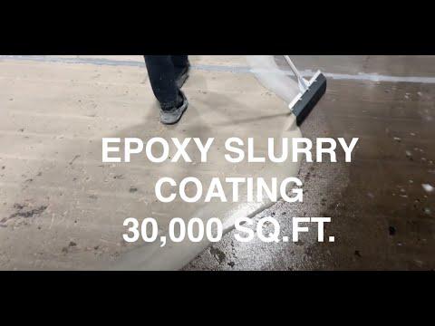 Installing epoxy flooring and epoxy slurry coat properly, Concrete Floor Solutions, Inc.