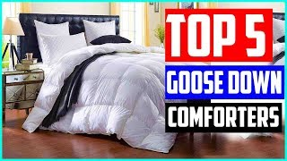 The 5 Best Goose Down Comforters in 2019