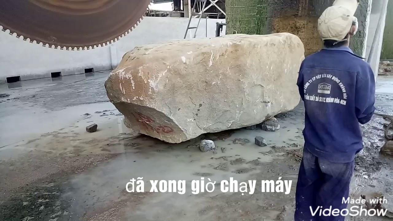 #Maycuada #Mayseda ( Máy Cưa Đá ) Cách Để Làm Ra Một Tấm Đá GRANITE. [ KHA TRẦN Vlogs ]