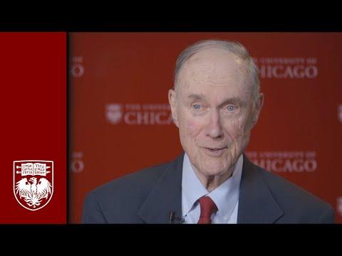 2014 University of Chicago Alumni Medalist Donald F. Steiner