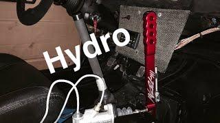 DIY: Hydro Handbrake Install