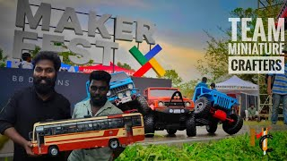 Makers Fest [2019] Miniature Models (Presented By Miniature CRaFteRs ) At Bolgatty Palace