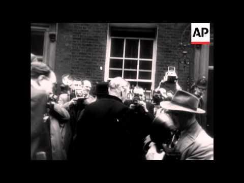 SIR ANTHONY EDEN - BRITISH PRIME MINISTER 1955 - 1957
