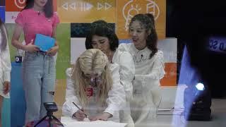 그림 그리기 그림 연상 퀴즈 -      걸그룹 다이아 (DIA) -  컴백 경축  -  상암동 TBS 방송…