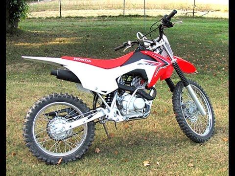 Honda crf125f Big Wheel Dirt Bike - YouTube