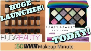 LOTS Of HUGE Launches from Fenty, Huda Beauty, Gigi Hadid, and MORE! | Makeup Minute