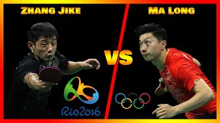 Zhang Jike VS Ma Long [Highlights] [HD]: Final Olympics Games Rio 2016