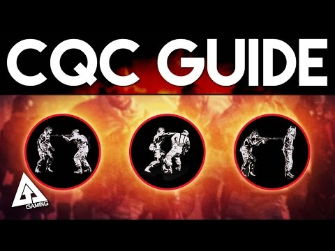 Metal Gear Solid 5 The Phantom Pain CQC Guide