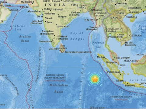 Large Quake - Tsunami Warning (March 2 2016)