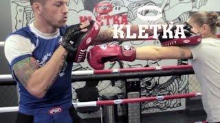 Работа на лапах в боксе —Урок 1, тренировка для начинающих от Андрея Басынина
