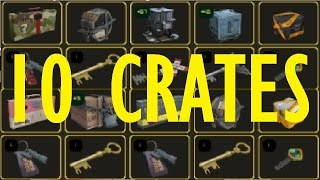 ? TF2: Unboxing 10 Random Crates or Cases >Team Fortress 2<