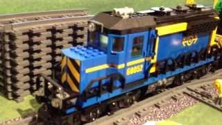 www.hobbymedia.it - Lego Train Station 60050 High speed Passenger Train 60051 e Cargo 60052