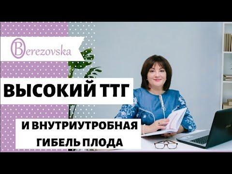 Др. Елена Березовская - Высокий ТТГ и внутриутробная гибель плода