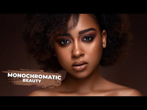 2 LIGHT MONOCHROMATIC BEAUTY SHOOT - Image Walkthrough + BTS | Canon EOS R, Canon 100mm Macro