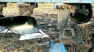 Проблемы с пахотой.  ДТ-75 1988г.в. с пластиковым плугом ПЛН-4.35 #СельхозТехника ТВ