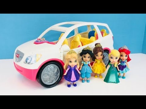 DISNEY PRINCESSES Toys Fisher Price Musical SUV Ride Glass Blowing Globe