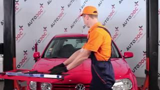 Como mudar Escovas de para brisa VW GOLF IV (1J1) - vídeo grátis online