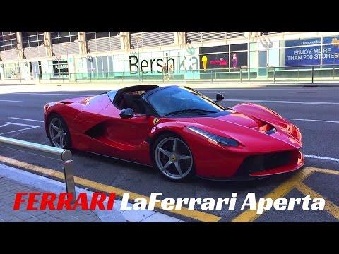 $1.8m Ferrari LaFerrari APERTA! – Start Up And Accelerations