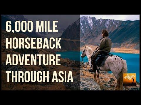 6,000 Miles Horseback Adventure Through Asia with Tim Cope : TPZ032
