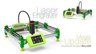 Laser Engraver Mega Update