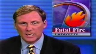 WWL-TV CH4 News at Noon Jan.13,2002 New Orleans (Partial)