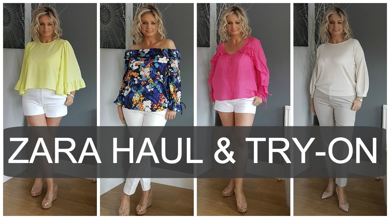Zara Haul and Try on  Spring 2017    Fashion over 40   YouTube Zara Haul and Try on  Spring 2017    Fashion over 40