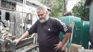 Самодельный листогибочный станок. (sheet metal bender, press brake)(, 2014-10-01T17:11:59.000Z)