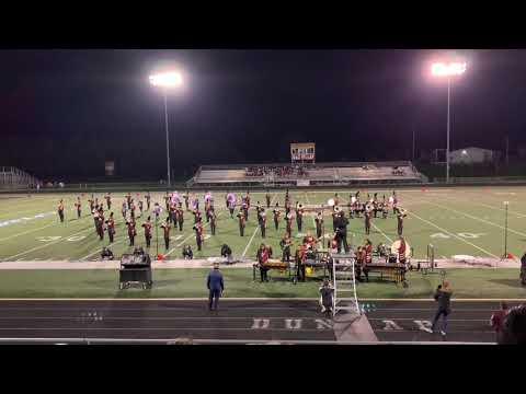 Dunlap High School Marching Eagles & Cadet Band @ Dunlap Invitational 2019   EXHIBITION