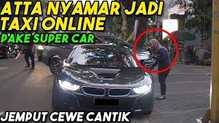 ATTA NYAMAR JADI TAXI ONLINE Dapet Cewe CANTIK!! Part 2