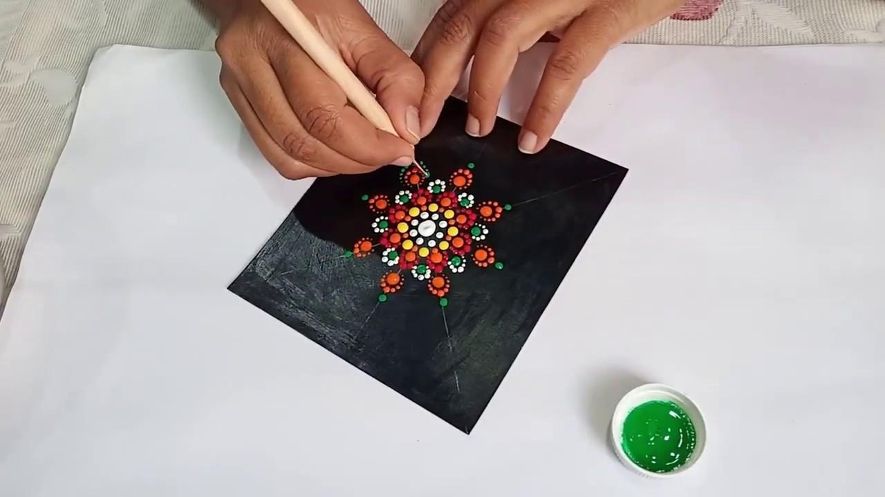 25 74 MB) Dot Mandala Tutorial for Beginners by shilsartwork
