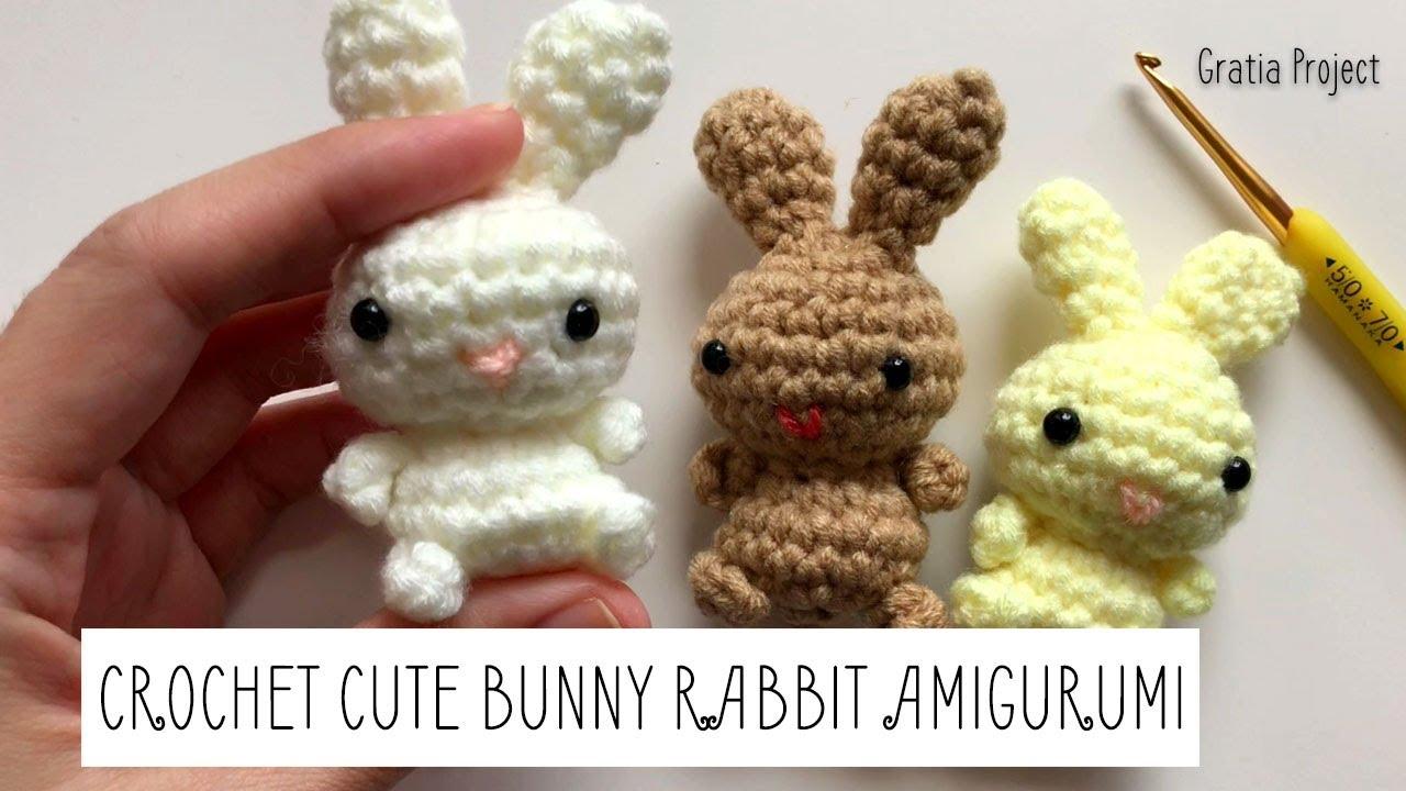 Cute Bunny Amigurumi Knitting Pattern - Knit Amigurumi Patterns | 720x1280