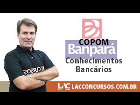 BANPARÁ - COPOM - Conhecimentos Bancários