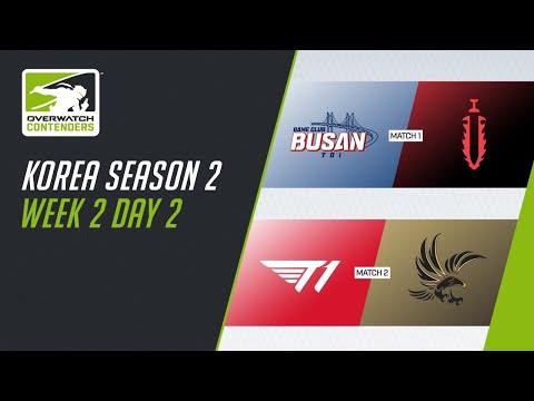 오버워치 e스포츠 - 2021 오버워치 컨텐더스 코리아 SEASON 2 WEEK 2 DAY 2