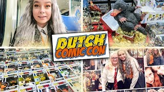 DUTCH COMICCON + SHOPLOG !!