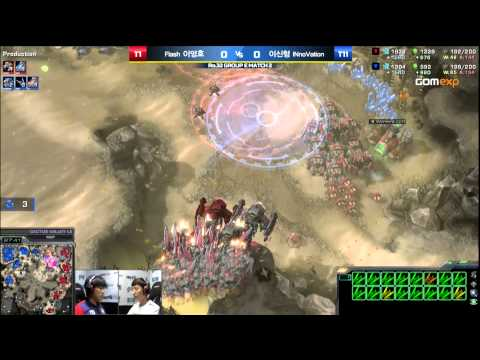 Flash vs INnoVation TvT Code S Group E Match 2, 2015 HOT6 GS