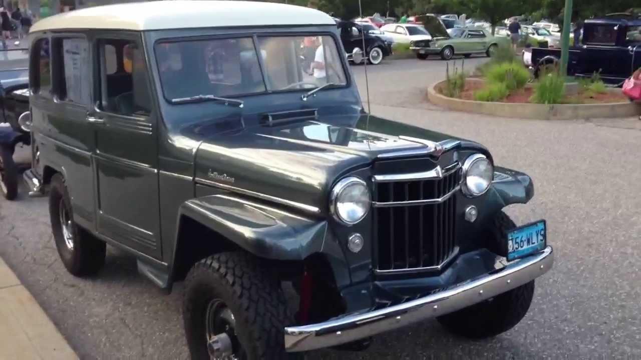 1956 Wyllis Jeep Station Wagon 4x4 Beautiful Restoration
