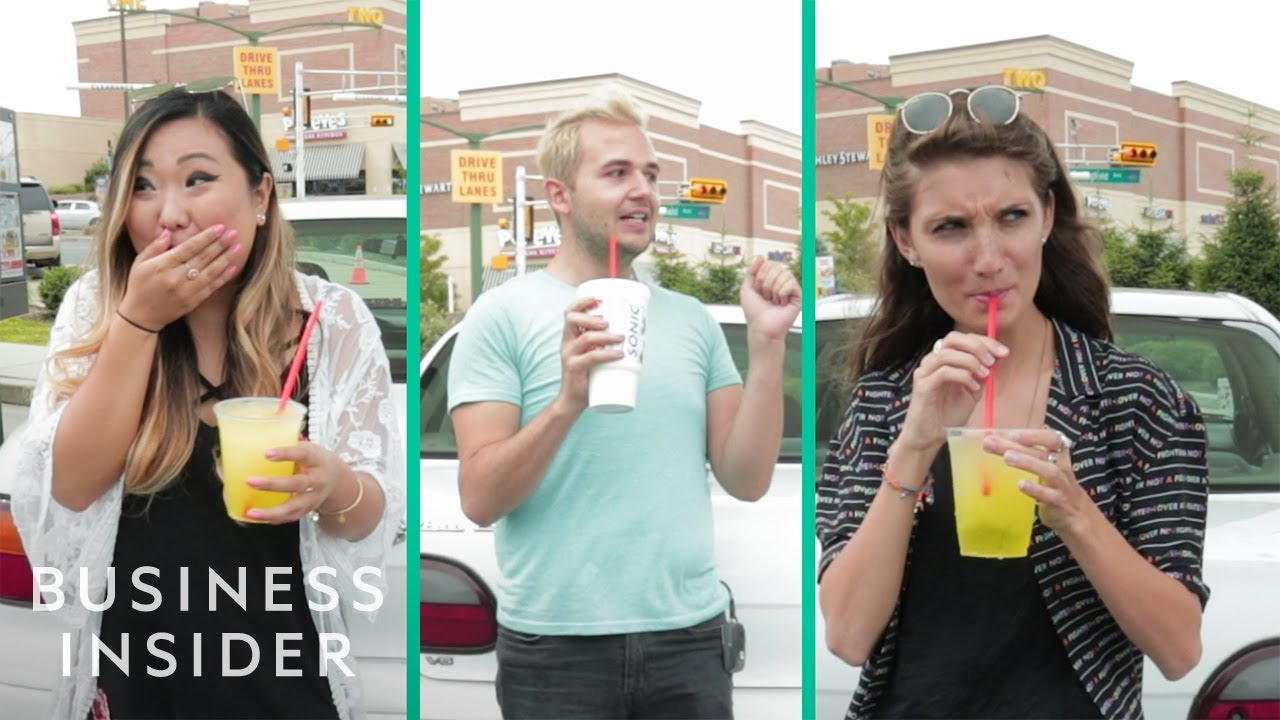We Tried Sonic's Controversial Pickle Juice Snow Cone Slush