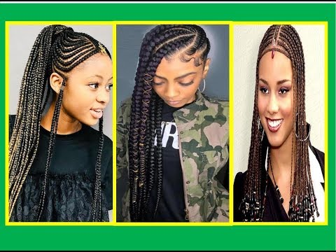 Summer  Hairstyles  for Black Women - 2019 - ሹሩባ