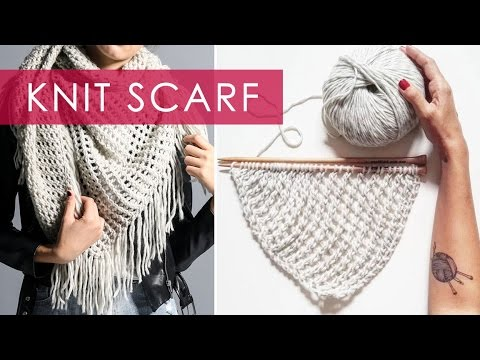 Knit Scarf | We Are Knitters