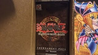 Yu-Gi-Oh! Tournament Pack 1 (TP1) Booster Box Opening! First on YouTube!!!