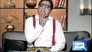 Azizi Sahab With Very Famous Funny & Comedy Tv Show Hasb e HaaL - 17 July 2011 - Part - 2/3.flv