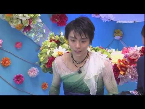 羽生結弦選手2016 NHK杯(FS)Bユーロ翻訳