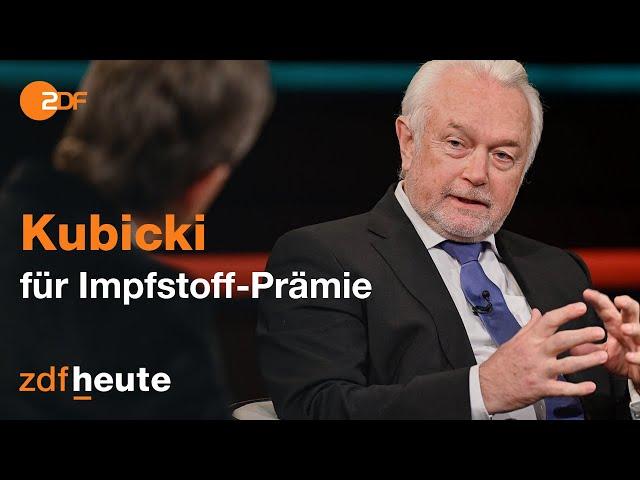 Wolfgang Kubicki wirft Bundesregierung Versagen bei Corona vor I Markus Lanz vom 04. Februar 2021